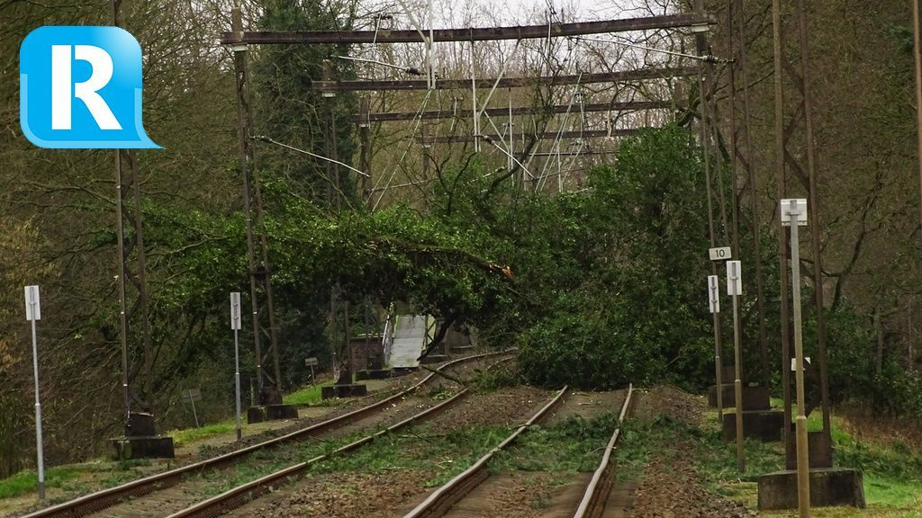 Spoor weer begaanbaar, weer treinen tussen Arnhem en Dieren