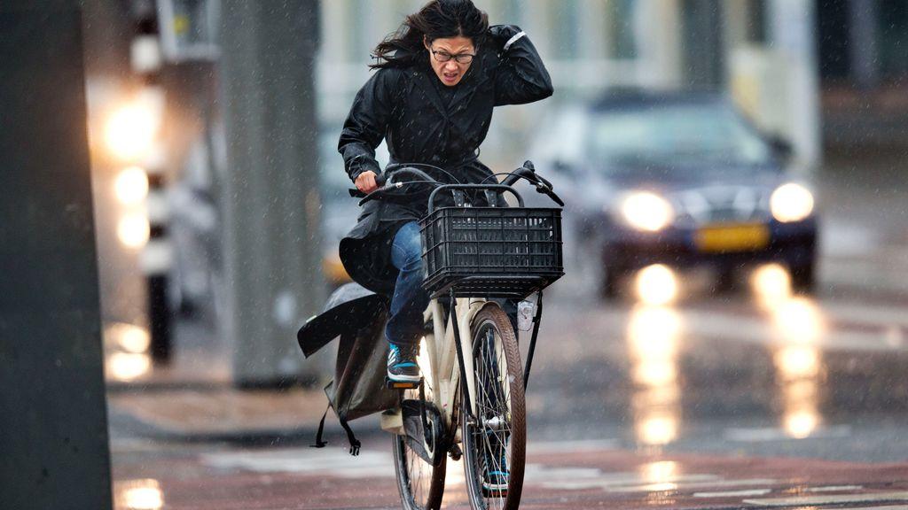 Deze week moeten we rekening houden met veel regen en wind. Foto: ANP
