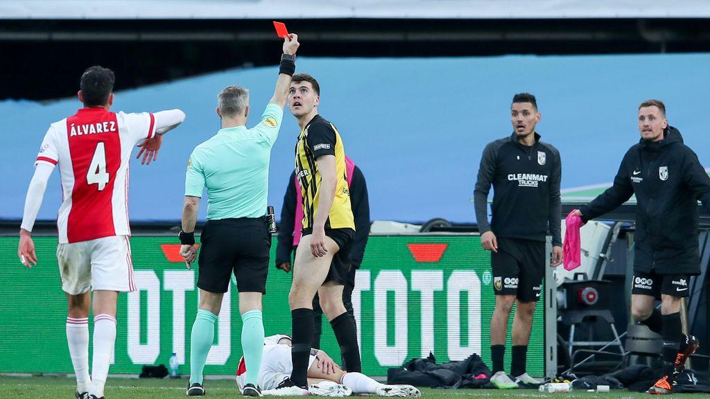 Vitesse verliest de bekerfinale van Ajax in de extra tijd
