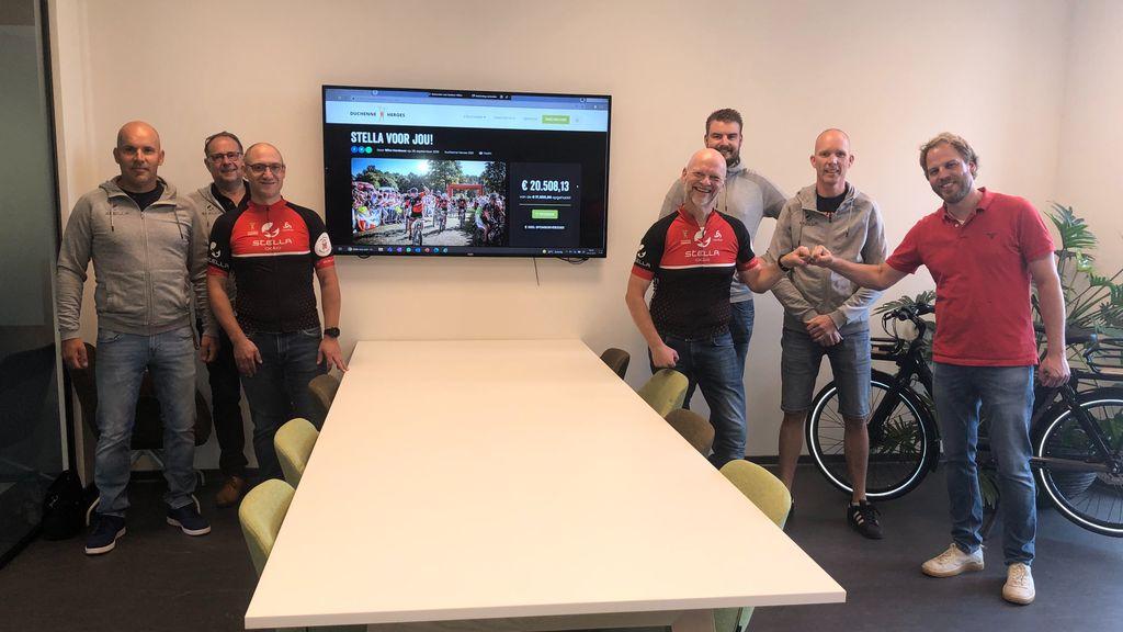 Op de fiets voor Duchenne Heroes