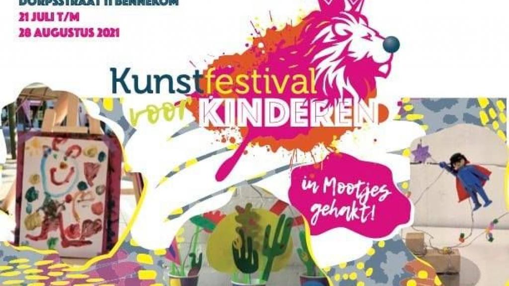 Kunstfestival voor kinderen in Bennekom