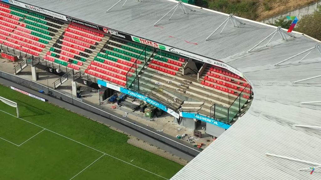 NEC speelt twee thuiswedstrijden in lege Goffert