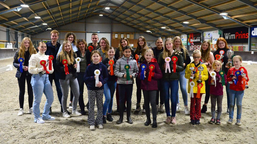 Clubkampioenschappen bij Rijvereniging en ponyclub Klein maar Dapper