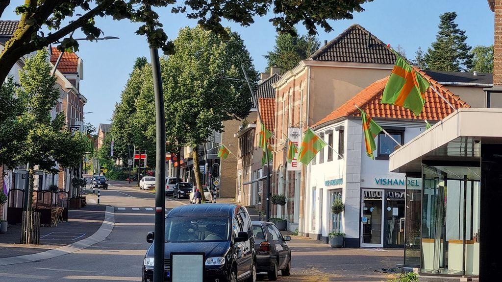 Groesbeek kleurt oranje-groen Foto: gemeente Berg en Dal