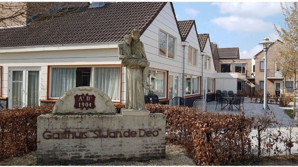 Sint Jan uit beeld bij het Gasthuis in Millingen