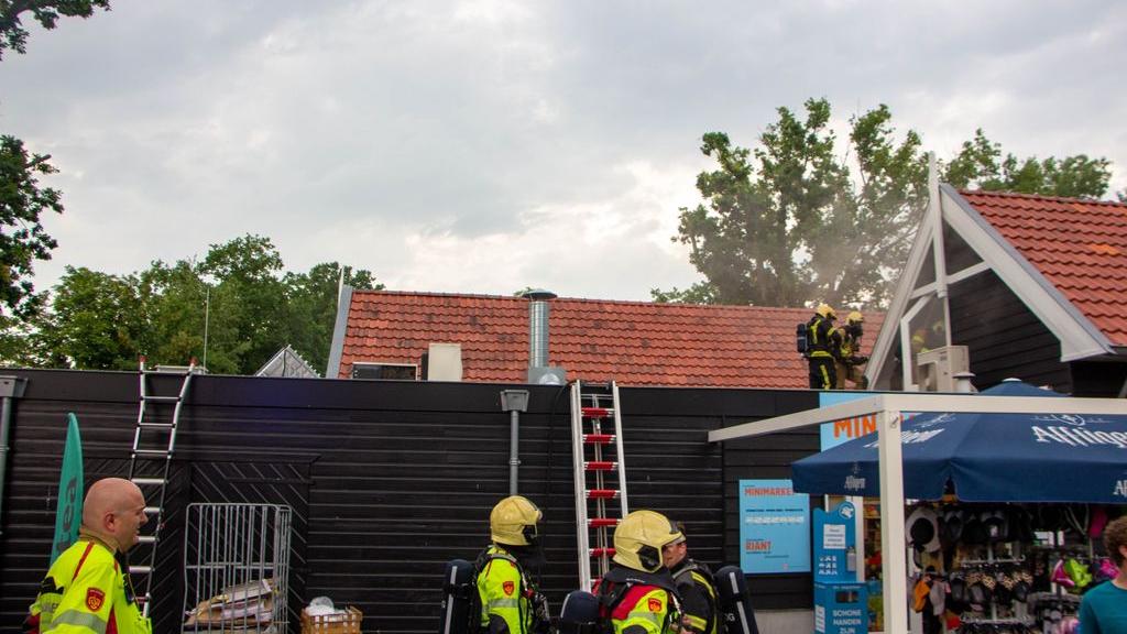 Brand bij Camping Bad Hoophuizen