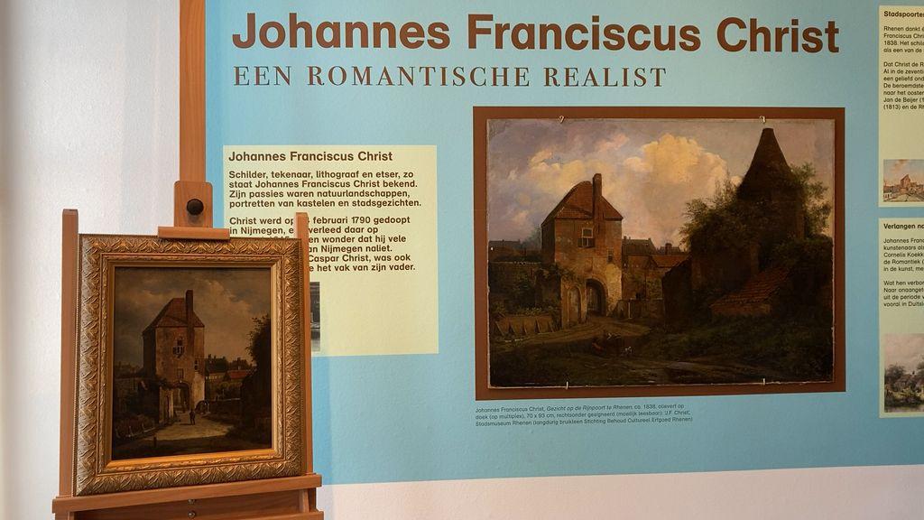 De overeenkomsten van de twee schilderijen zijn niet op één hand te tellen. Toch zijn er ook een aantal verschillen.  Foto: RTV Utrecht / Eva Hageraats