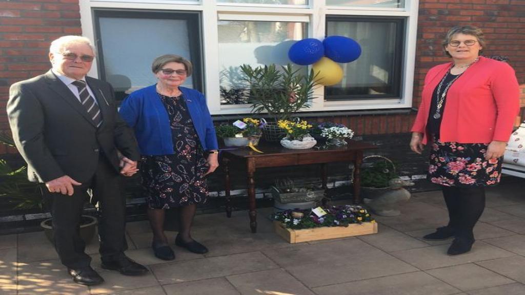 Echtpaar Westerink in Woudenberg 60 jaar getrouwd