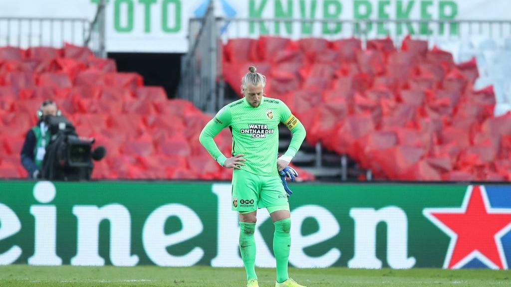Vitesse-aanvoerder Remko Pasveer: 'Zege van Ajax was terecht'