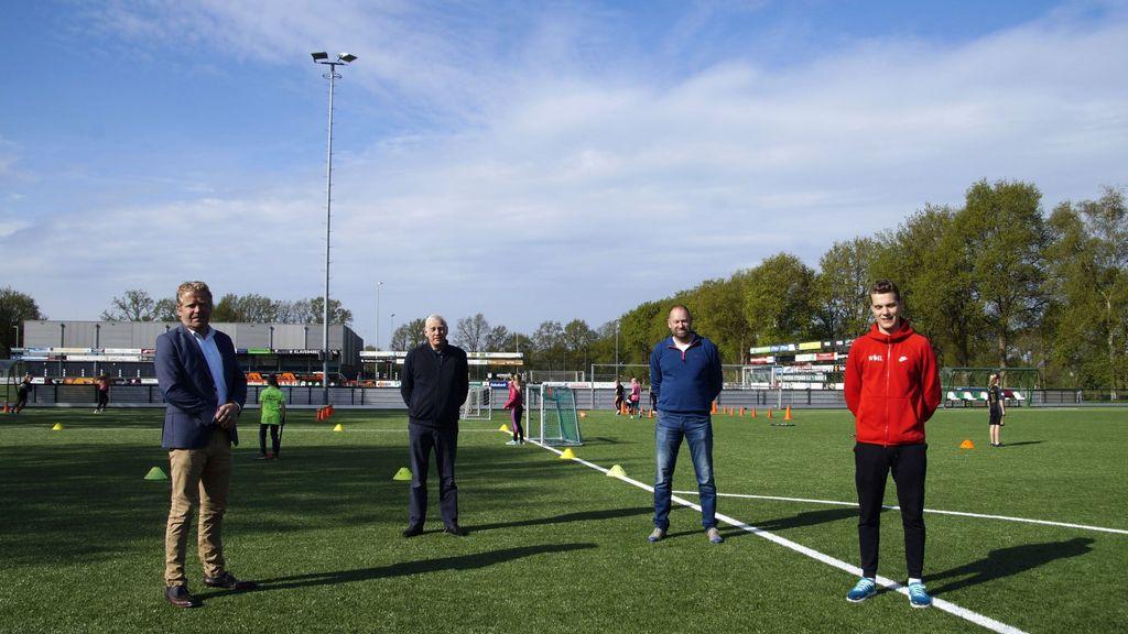 SV 't Harde stelt voetbalvelden beschikbaar voor basisscholen