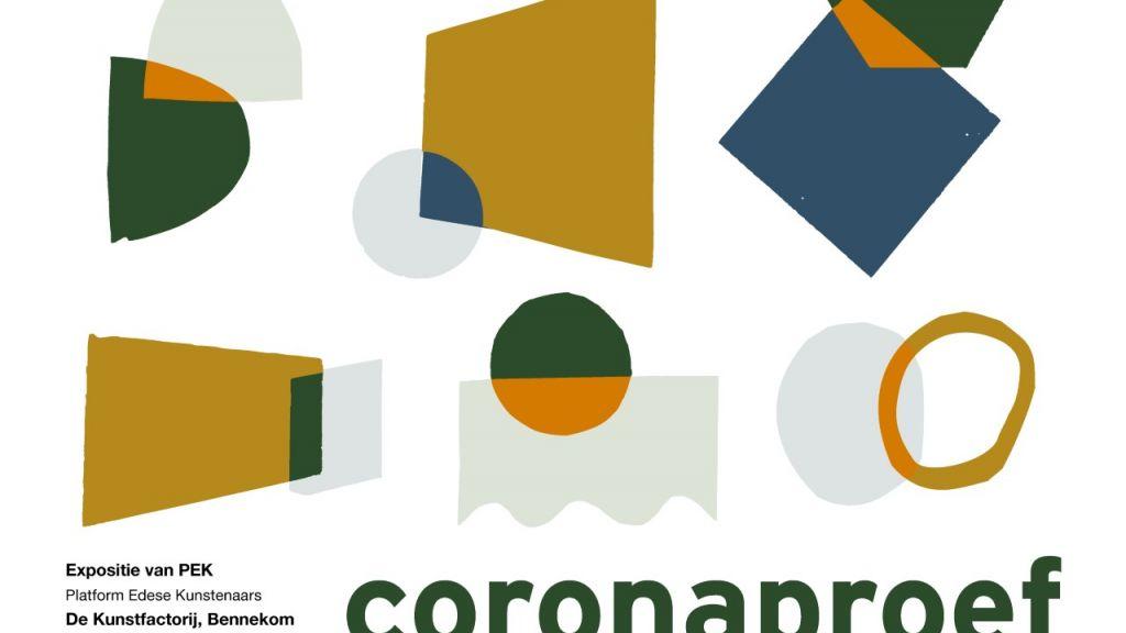 Najaarsexpositie van PEK 'CORONAPROEF' in De Kunstfactorij