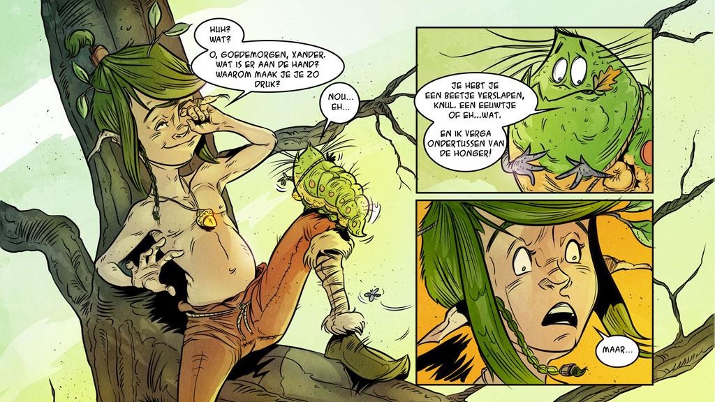 Wethouder Marc Budel reikt eerste exemplaren stripboek Meander uit