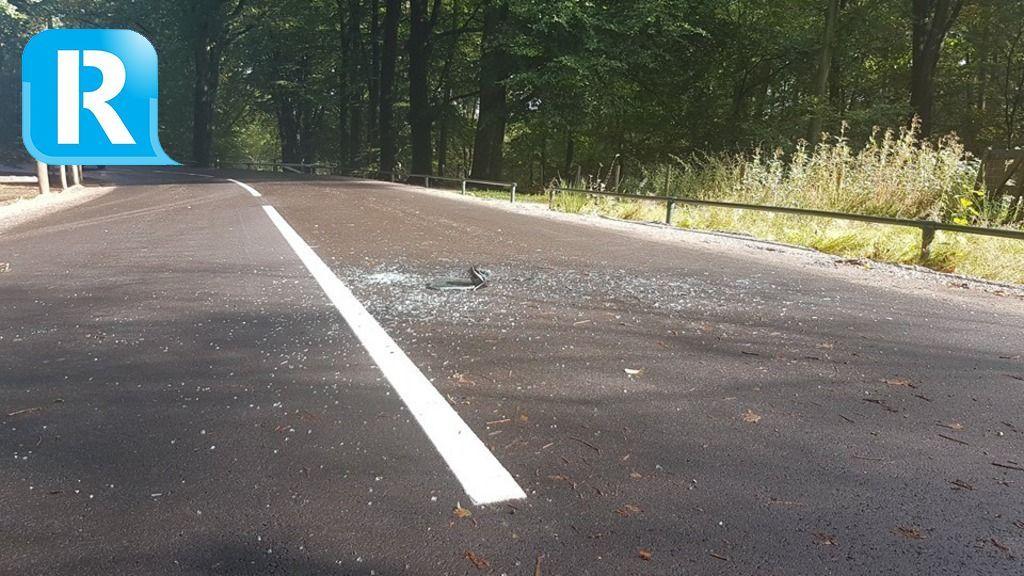 Chauffeur slaat achterruit in bij verkeersruzie
