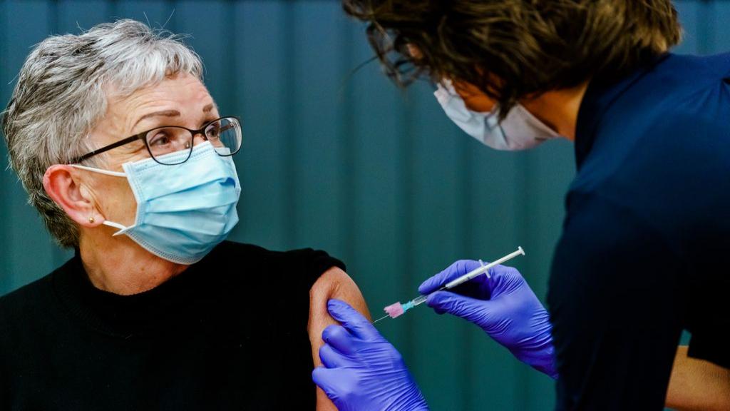 Vaccineren tegen het coronavirus. Foto: ANP
