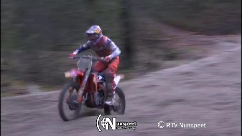 Viervoudig wereldkampioen Jeffrey Herlings op crossbaan in Nunspeet