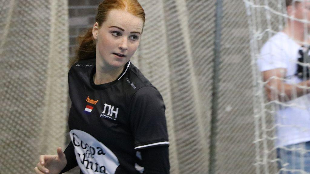 Handbalster Dione Housheer tweede in talentverkiezing