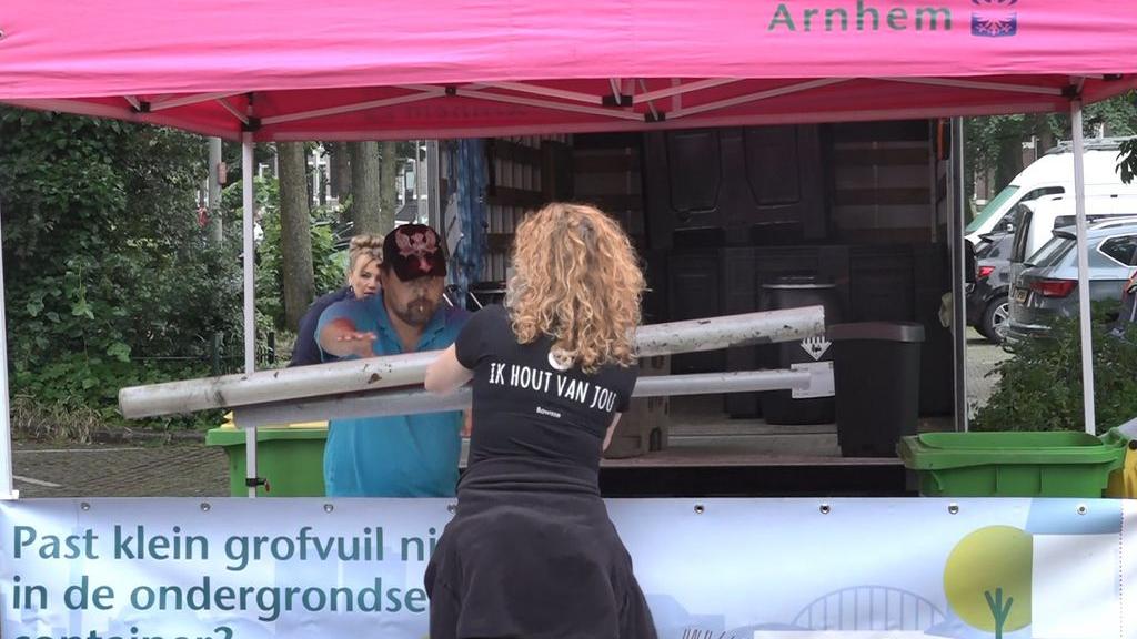 Milieukar van start om Arnhemse afvaldump te verminderen