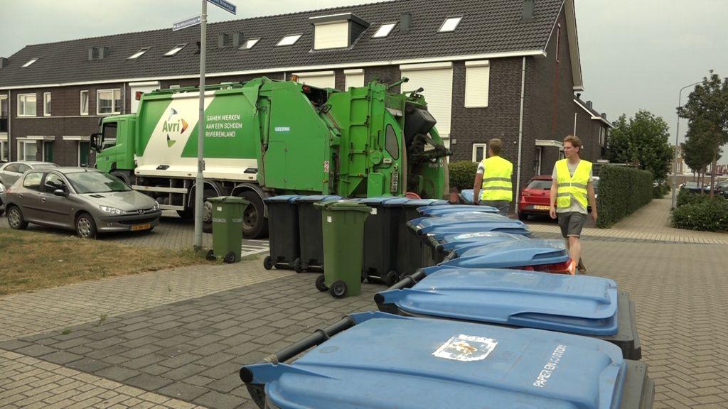 Avri zet clubs in voor opruimen rond afvalcontainers en mobiele milieustraat