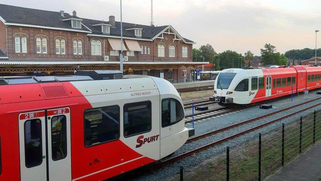 Geen treinen tussen Winterswijk en Terborg door werkzaamheden