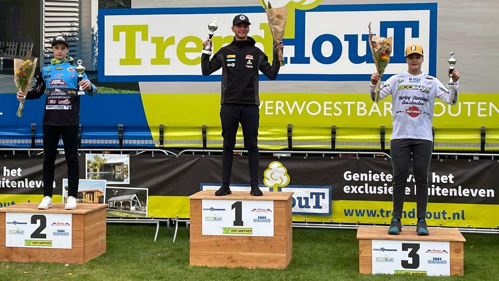 Wijchense motorcross-broers Knuiman succesvol op Open Nederlands Kampioenschap
