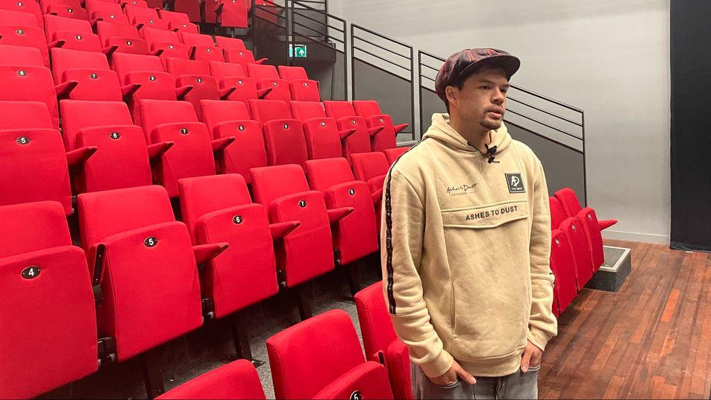 Bewegingskunstenaar en choreograaf Ruben Chi Foto: RTV Arnhem