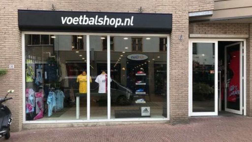 Voetbalshop.nl in Arnhem Foto: Voetbalshop Arnhem