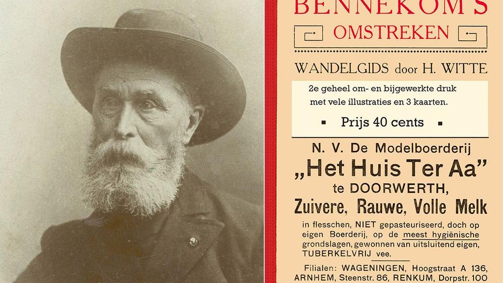 Heruitgave 'Wandelgids voor Bennekom' van Heinrich Witte uit 1907