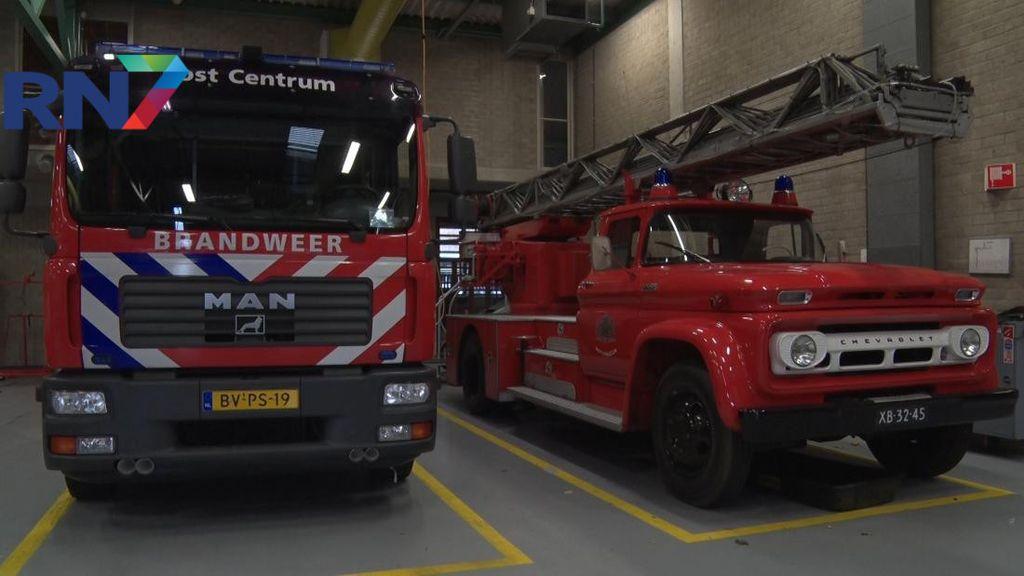 Brandende vrachtwagen bij Ewijk, A50 in beide richtingen dicht