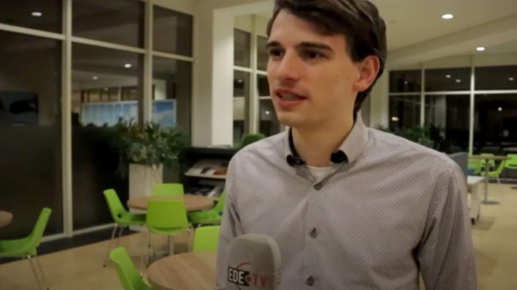Stephan Neijenhuis (D66) ziet de verkiezingen met vertrouwen tegemoet