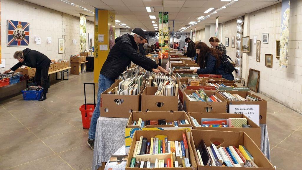 Nog een keer pop-up boekenmarkt in Bennekom