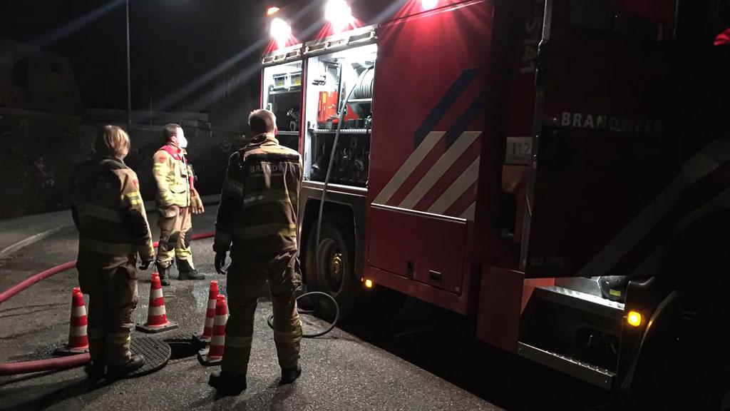 Brandweervrijwilligers Dieren rukken uit voor terpentinelucht