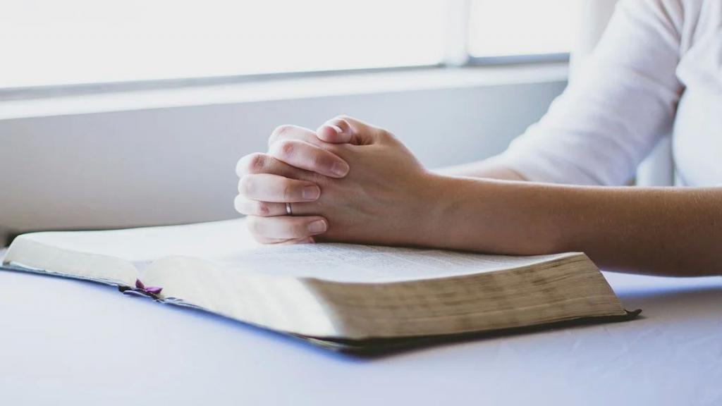 Uur van gebed vooraf de verkiezingen