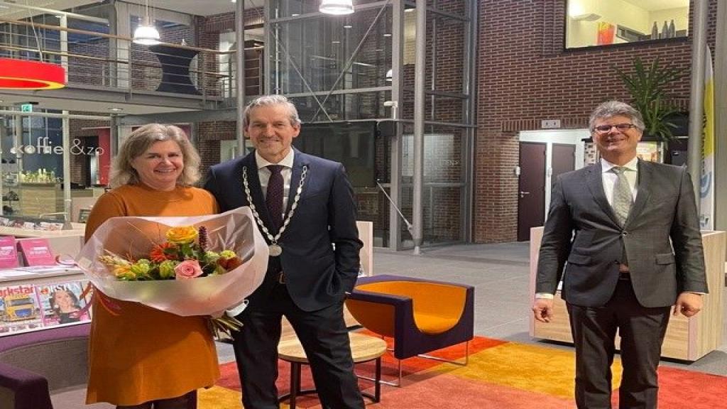 Beëdiging burgemeester Hans van der Pas van Rhenen