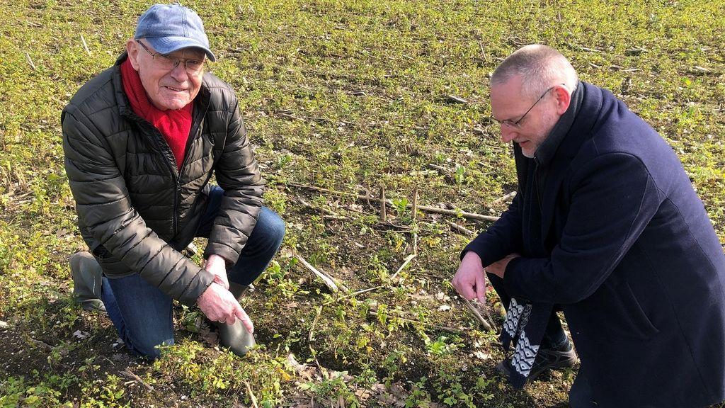 Eerste kievitsei in de gemeente Epe voor de 4e keer gevonden door Wim Schakelaar