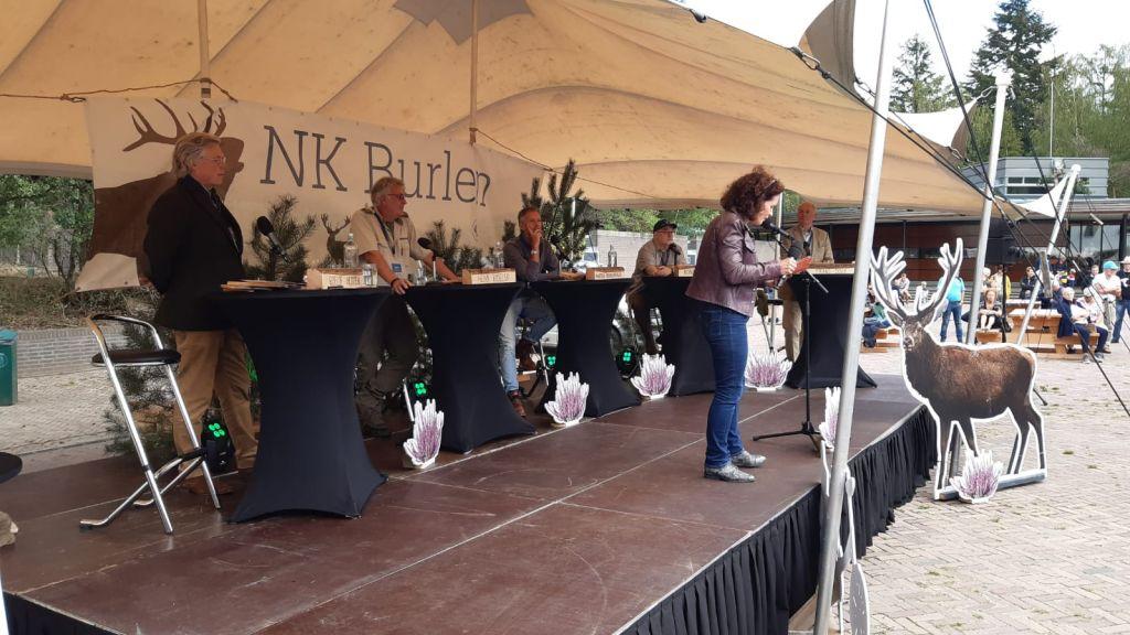 Sam Rijnhout uit Apeldoorn Nationaal kampioen burlen