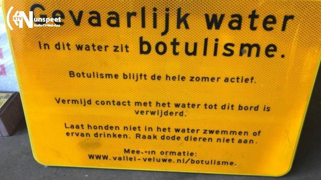Botulisme in watergangen in Elburg
