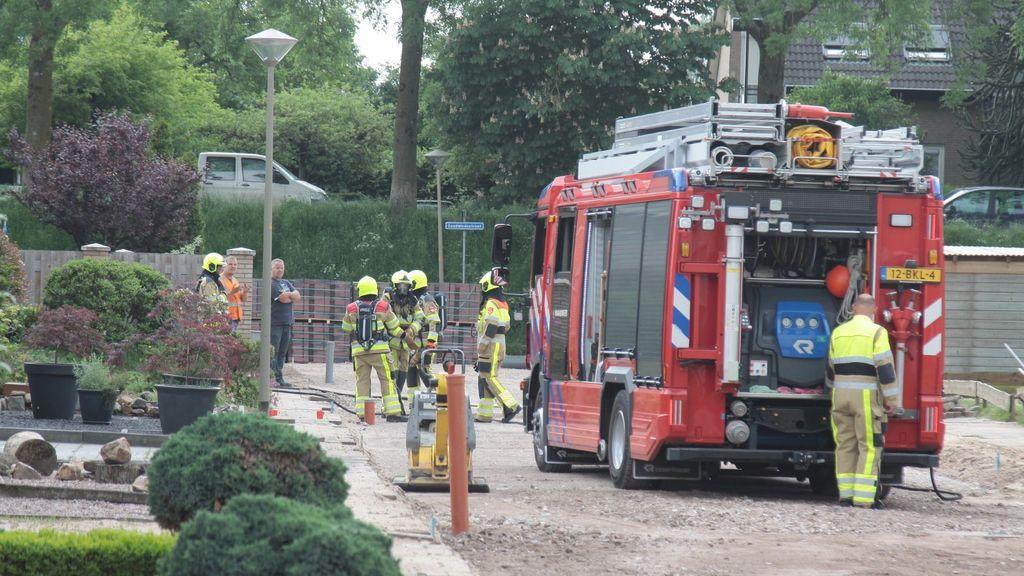 Brandweer rukt uit voor gaslek in Ooij