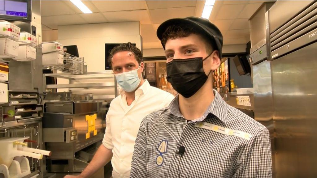 Gydanno is een dag baas bij McDonalds Arnhem