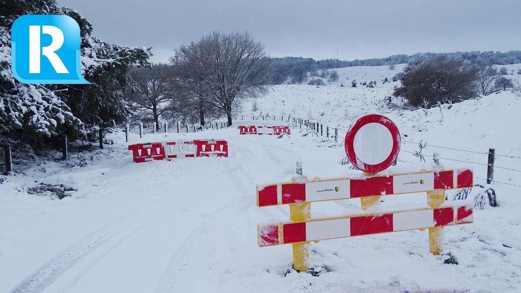 Alle wegen op de Posbank weer open