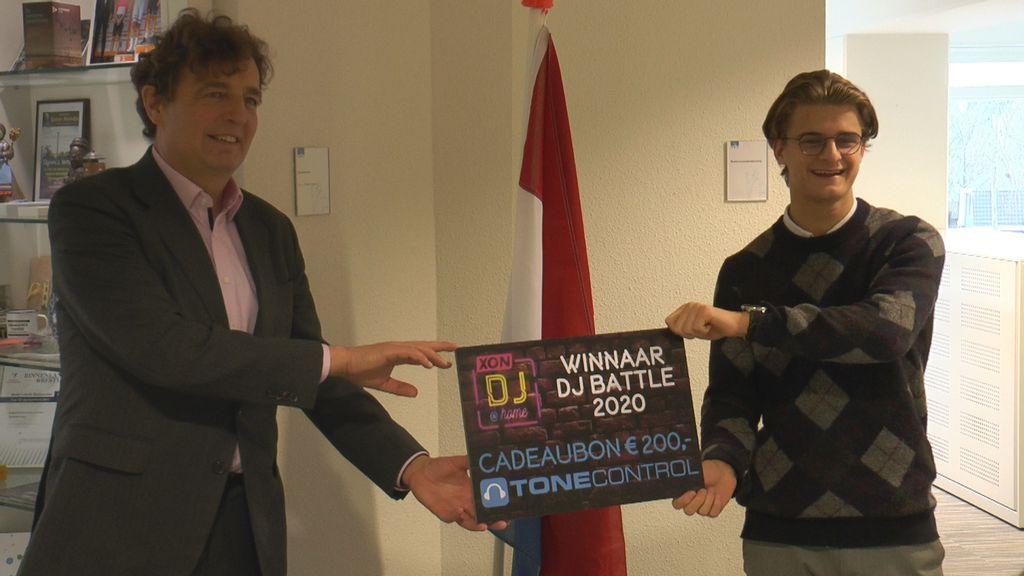 Ruben Corten winnaar van XON DJ Battle