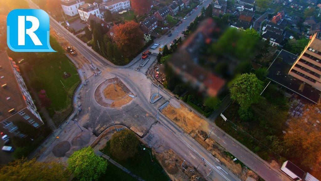 Arnhemsestraatweg en nieuwe rotonde in Velp woensdag open