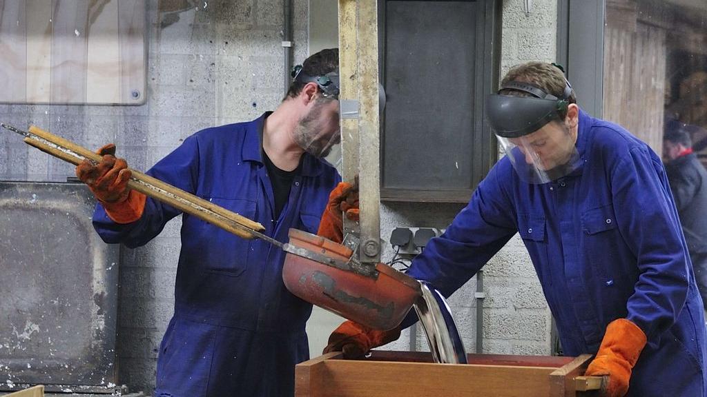 Bij het maken van orgels komt veel kennis kijken. Foto: Reil.
