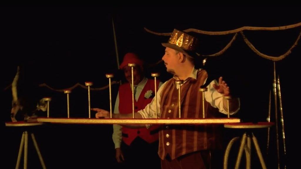 Bewoners de Drie Gasthuizen krijgen speciale circusvoorstelling