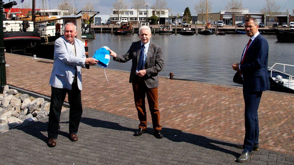 De Blauwe Vlag wappert weer in Elburg