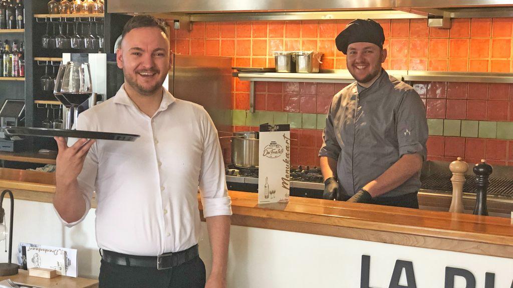 Nieuw Italiaans restaurant door twee jonge ondernemers. Foto: RTV Nunspeet