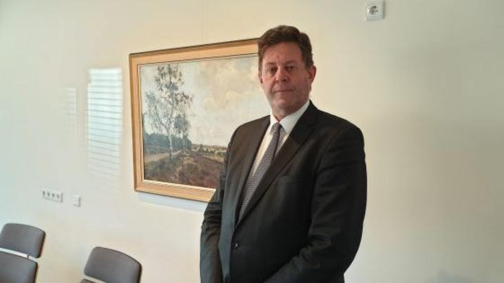 Burgemeester Van de Weerd  Foto: RTV Nunspeet