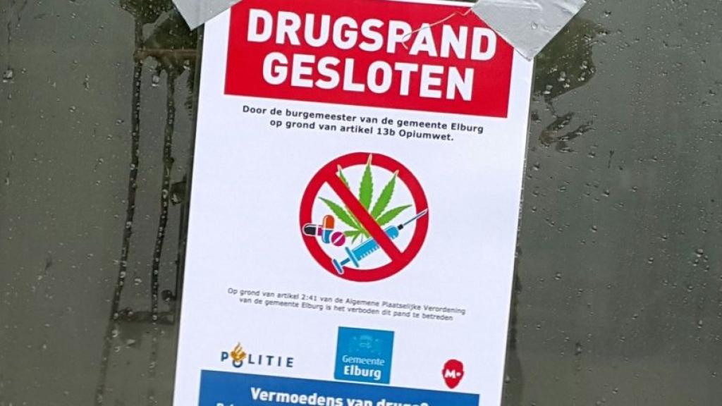 Burgemeester van Elburg sluit woning vanwege aantreffen hennepkwekerij