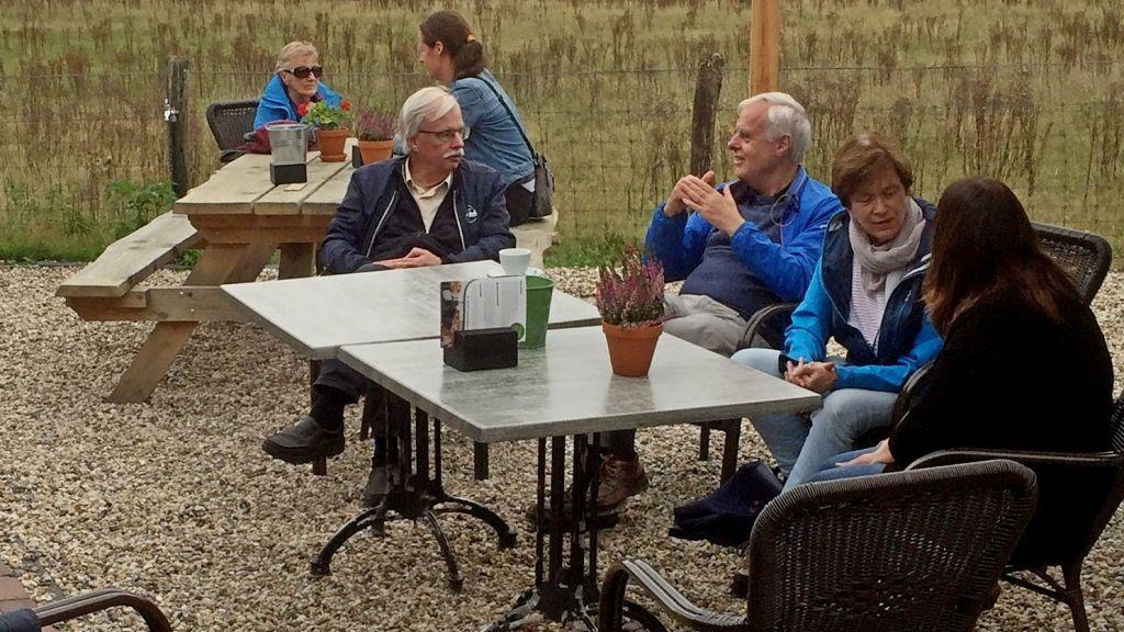Boerderij de Mossel ontvangt het Oog Café Ede