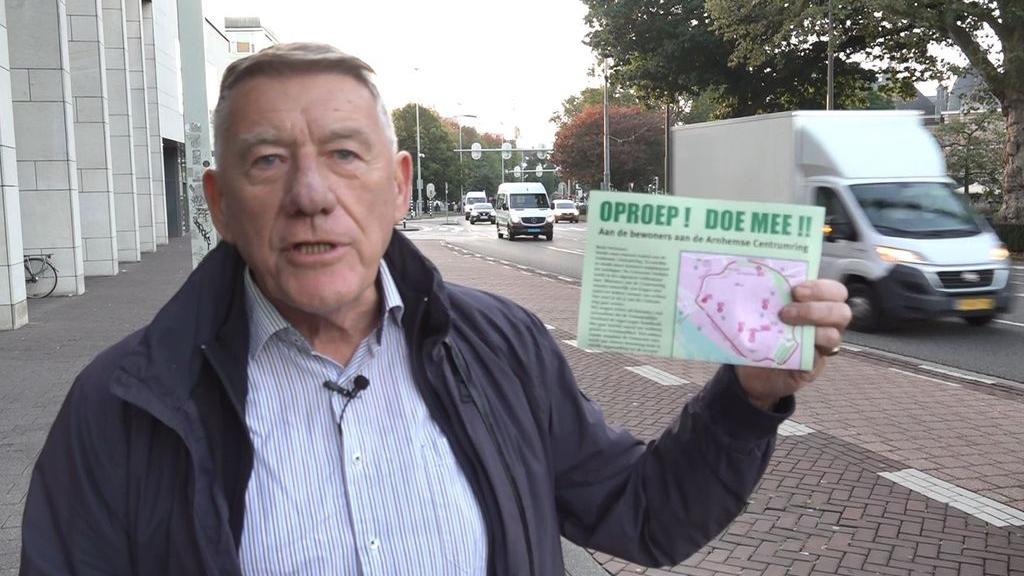 Bewoners Arnhemse centrumring maken gezamenlijke vuist tegen verkeersoverlast
