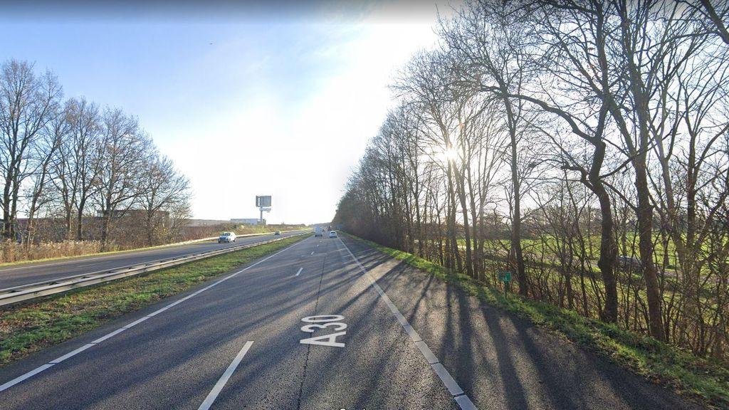 Afsluiting A30 tussen Barneveld-Noord en aansluiting Scherpenzeel op 9 en 10 april